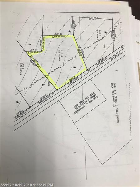 lot#6 139 Route, Thorndike, ME 04986 (MLS #1374421) :: Your Real Estate Team at Keller Williams