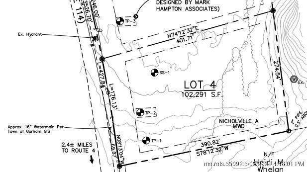 Lot 4 375 Fort Hill Road, Gorham, ME 04038 (MLS #1490244) :: Keller Williams Realty