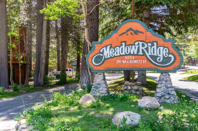 3005 Meridian Blvd, Mammoth Lakes, CA 93546 (MLS #180979) :: Rebecca Garrett - Mammoth Realty Group