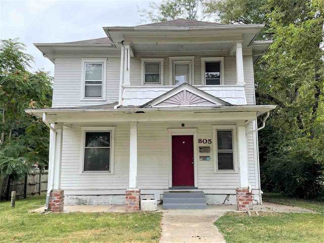 805 Fremont Avenue, Manhattan, KS 66502 (MLS #20213186) :: Stone & Story Real Estate Group