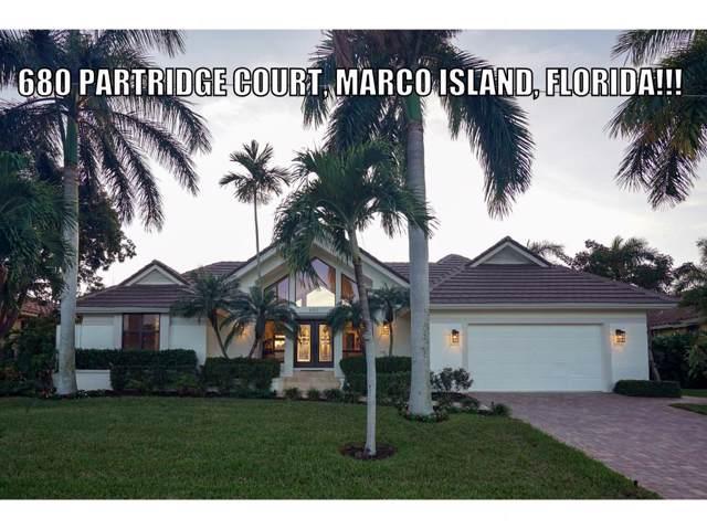 680 Partridge Court #10, Marco Island, FL 34145 (MLS #2192948) :: Clausen Properties, Inc.