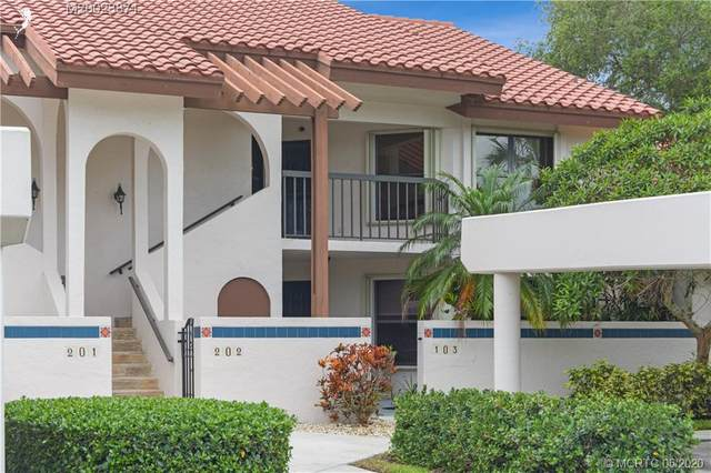 6141 SE Martinique Drive #202, Stuart, FL 34997 (#M20023871) :: Realty One Group ENGAGE