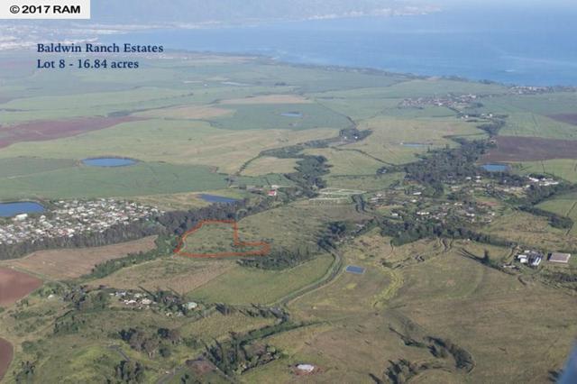 0 N Baldwin Ave Lot 8, Makawao, HI 96768 (MLS #374549) :: Island Sotheby's International Realty