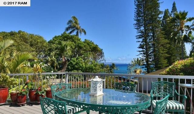 5045 Lower Honoapiilani Rd House #5, Lahaina, HI 96761 (MLS #374561) :: Island Sotheby's International Realty