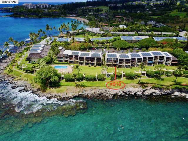 5290 Lower Honoapiilani Rd B18, Lahaina, HI 96761 (MLS #374583) :: Island Sotheby's International Realty