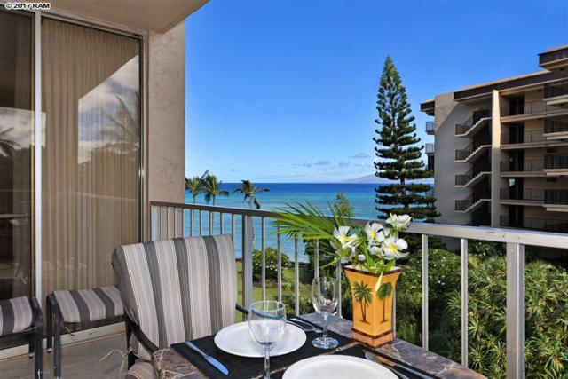 4365 Lower Honoapiilani Rd #501, Lahaina, HI 96761 (MLS #374890) :: Elite Pacific Properties LLC