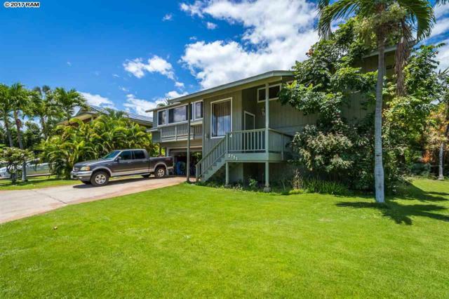 2751 Puuhoolai St, Kihei, HI 96753 (MLS #374904) :: Elite Pacific Properties LLC