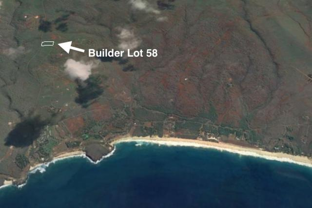 0 Kaula Rd Builder Lot 58, Maunaloa, HI 96770 (MLS #374954) :: Island Sotheby's International Realty