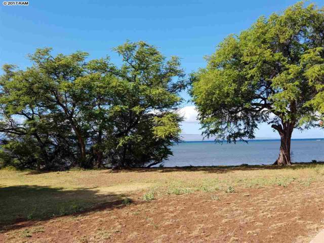 Lot 3 Hooulu Pl, Kaunakakai, HI 96748 (MLS #375135) :: Island Sotheby's International Realty