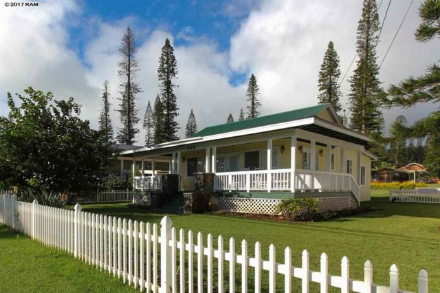 534 Fraser Ave, Lanai City, HI 96763 (MLS #375191) :: Elite Pacific Properties LLC