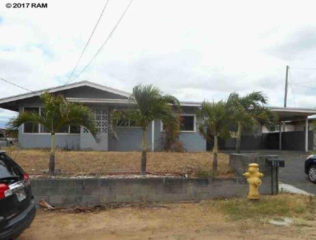 805 Pala Cir, Kahului, HI 96732 (MLS #375245) :: Island Sotheby's International Realty