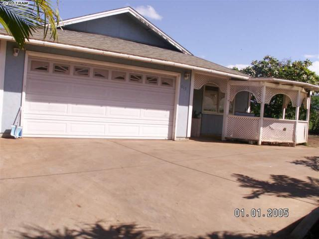 615 Kuu Home Pl, Kihei, HI 96753 (MLS #375301) :: Elite Pacific Properties LLC