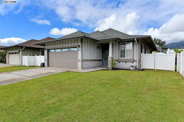 40 Hoku Puhipaka St, Kahului, HI 96732 (MLS #375308) :: Island Sotheby's International Realty