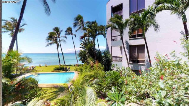 3875 Lower Honoapiilani Rd B201, Lahaina, HI 96761 (MLS #375485) :: Elite Pacific Properties LLC