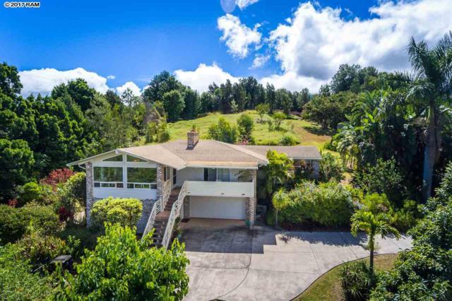 79 Alokele Pl, Pukalani, HI 96768 (MLS #375534) :: Elite Pacific Properties LLC