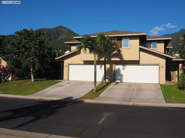 317 Lau Manamana St #81, Wailuku, HI 96793 (MLS #375587) :: Elite Pacific Properties LLC