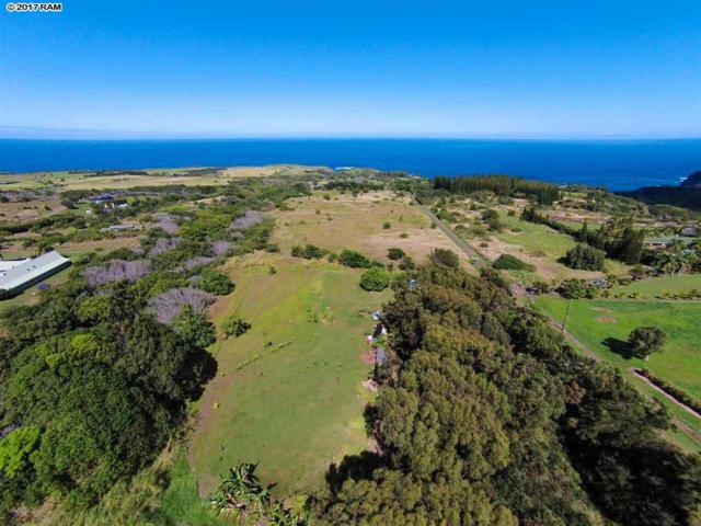 17 Manawai Pl Lot 1 Unit A, Haiku, HI 96708 (MLS #375592) :: Elite Pacific Properties LLC