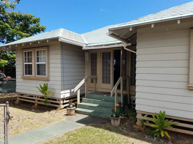 240 Napua St, Wailuku, HI 96793 (MLS #375631) :: Elite Pacific Properties LLC