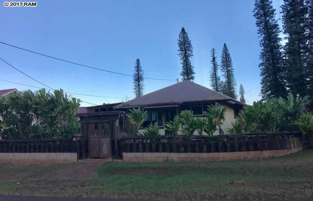 339 Sixth St, Lanai City, HI 96763 (MLS #375638) :: Coldwell Banker Island Properties