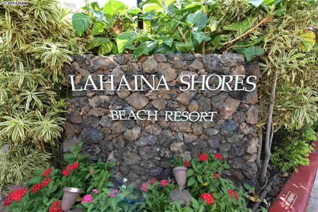 475 Front St #204, Lahaina, HI 96761 (MLS #375674) :: Team Lally