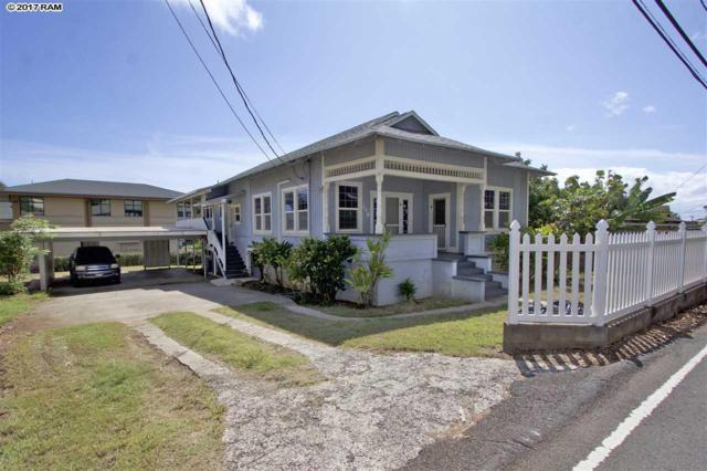 148 S Church St, Wailuku, HI 96793 (MLS #375898) :: Island Sotheby's International Realty