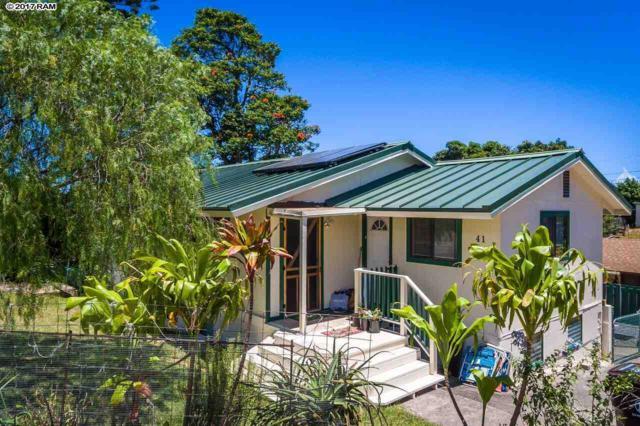 41 Hoolai St, Makawao, HI 96768 (MLS #375926) :: Island Sotheby's International Realty