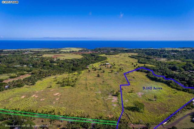 110 Kauaheahe Pl Lot 1, Haiku, HI 96708 (MLS #376648) :: Island Sotheby's International Realty