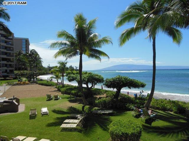 4299 Lower Honoapiilani Rd #316, Lahaina, HI 96761 (MLS #376694) :: Island Sotheby's International Realty