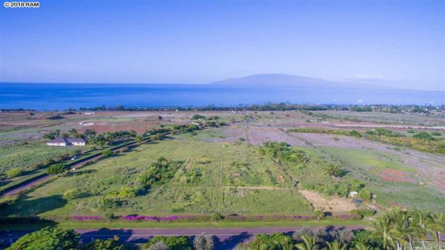 0 Mele Komo Pl Lot 7, Lahaina, HI 96761 (MLS #376922) :: Elite Pacific Properties LLC