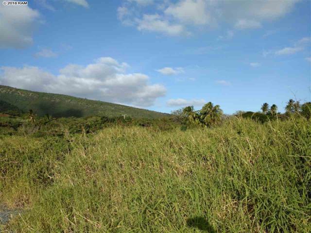 0 Off Mapulehu Fish Pond Lot #4, Kaunakakai, HI 96748 (MLS #376963) :: Elite Pacific Properties LLC