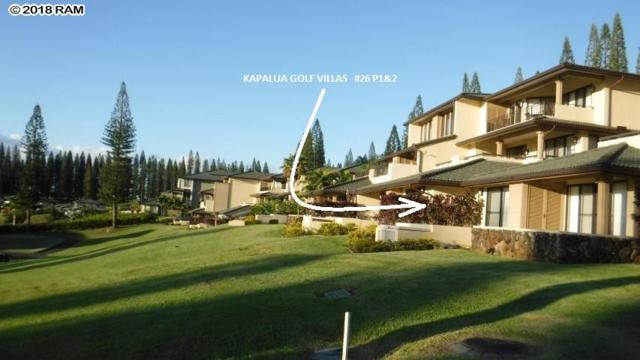 500 Kapalua Dr 26P1-2, Lahaina, HI 96761 (MLS #377046) :: Elite Pacific Properties LLC