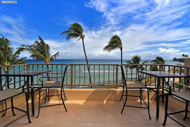 3615 Lower Honoapiilani Rd #421, Lahaina, HI 96761 (MLS #377119) :: Elite Pacific Properties LLC