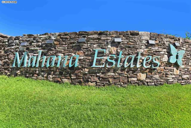 325 Mahana Ridge St #22, Lahaina, HI 96761 (MLS #377158) :: Elite Pacific Properties LLC