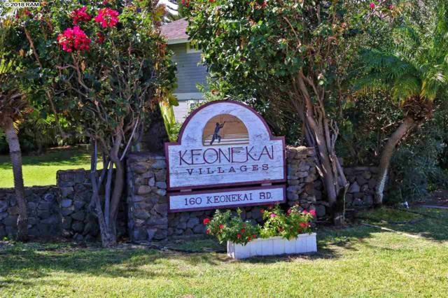 160 Keonekai Rd 12-101, Kihei, HI 96753 (MLS #377245) :: Elite Pacific Properties LLC
