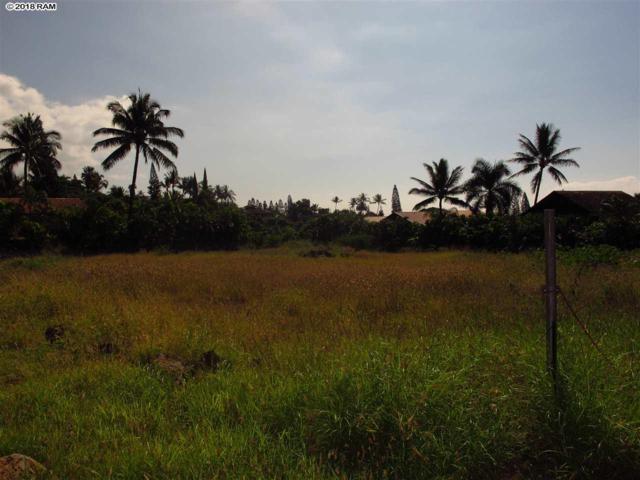 700 Kupulau Dr, Kihei, HI 96753 (MLS #377311) :: Elite Pacific Properties LLC