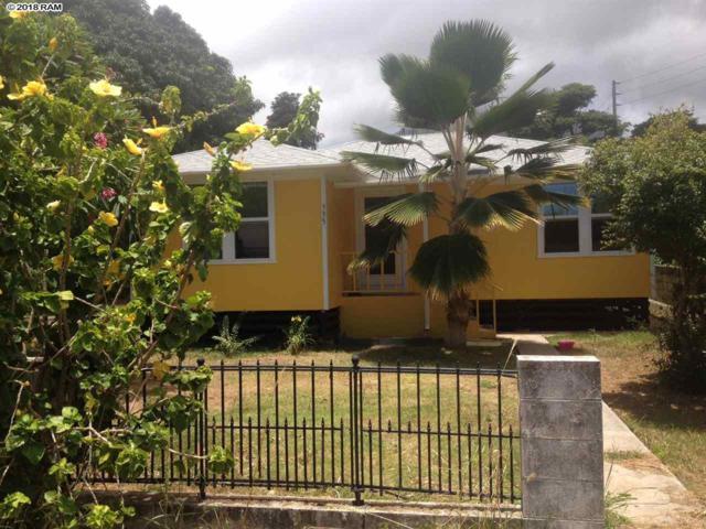 335 Makua St, Wailuku, HI 96793 (MLS #377357) :: Elite Pacific Properties LLC