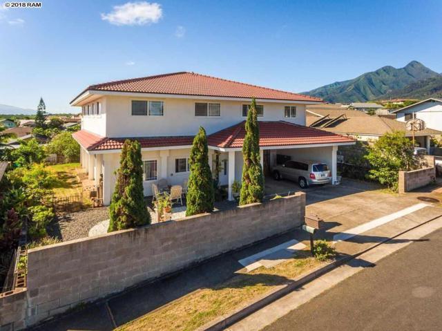 761 Aukai St, Wailuku, HI 96793 (MLS #377571) :: Elite Pacific Properties LLC
