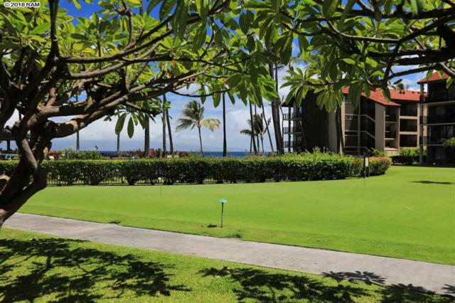 3543 Lower Honoapiilani Rd K106, Lahaina, HI 96761 (MLS #377717) :: Team Lally