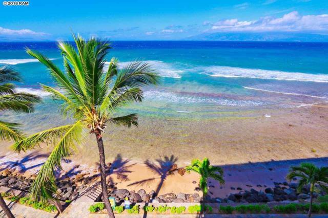 3445 Lower Honoapiilani Rd #601, Lahaina, HI 96761 (MLS #377772) :: Elite Pacific Properties LLC