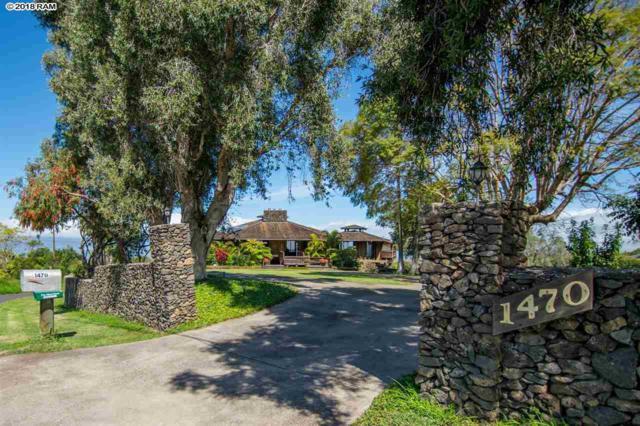 1470 Naalae Rd, Kula, HI 96790 (MLS #377886) :: Elite Pacific Properties LLC