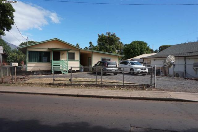 168 Prison St, Lahaina, HI 96761 (MLS #378128) :: Elite Pacific Properties LLC