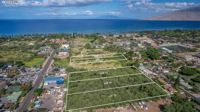 0 E Kapu Pl, Kihei, HI 96753 (MLS #378175) :: Elite Pacific Properties LLC