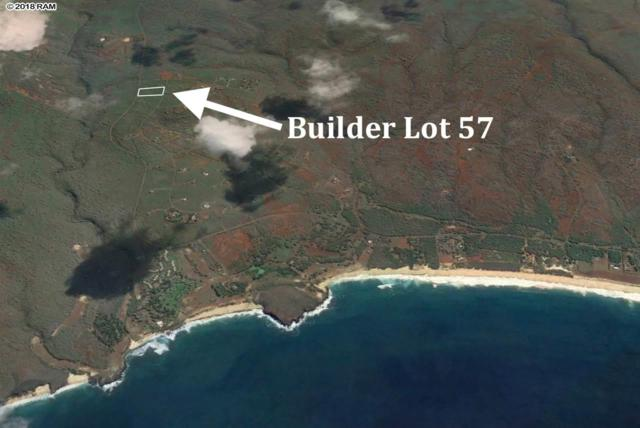 0 Kaula Rd Builder Lot 57, Maunaloa, HI 96770 (MLS #378208) :: Elite Pacific Properties LLC