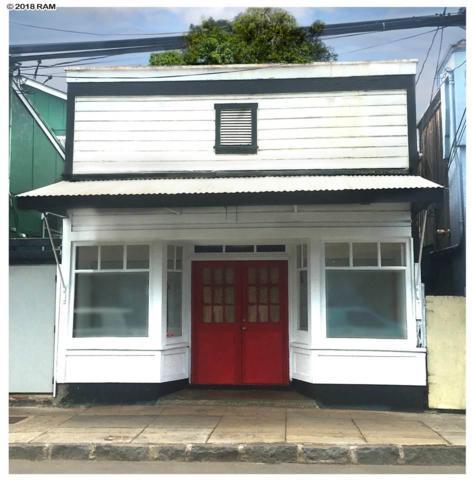 139 N Market St, Wailuku, HI 96793 (MLS #378310) :: Elite Pacific Properties LLC