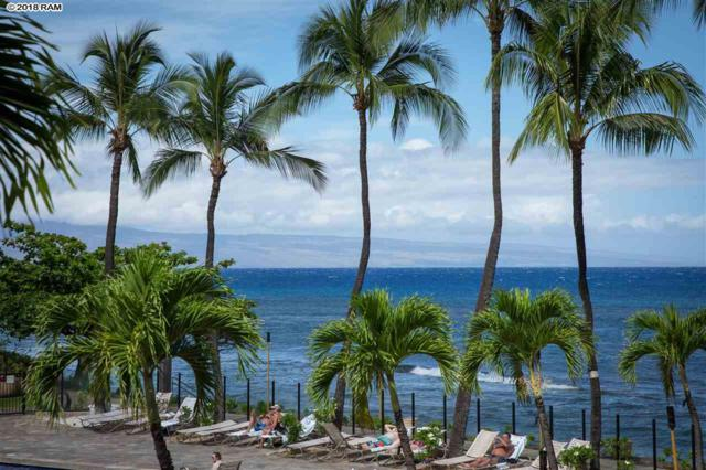 3445 Lower Honoapiilani Rd #203, Lahaina, HI 96761 (MLS #378340) :: Elite Pacific Properties LLC