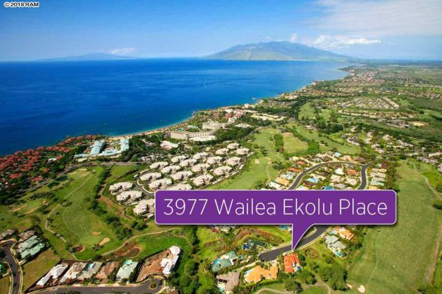 3977 Wailea Ekolu Pl, Kihei, HI 96753 (MLS #378390) :: Elite Pacific Properties LLC