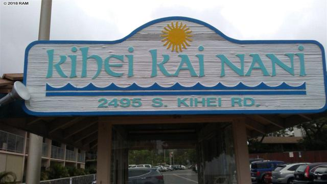 2495 S Kihei Rd #124, Kihei, HI 96753 (MLS #378412) :: Team Lally