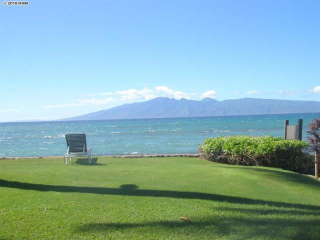 3543 Lower Honoapiilani Rd A-109, Lahaina, HI 96761 (MLS #378414) :: Team Lally