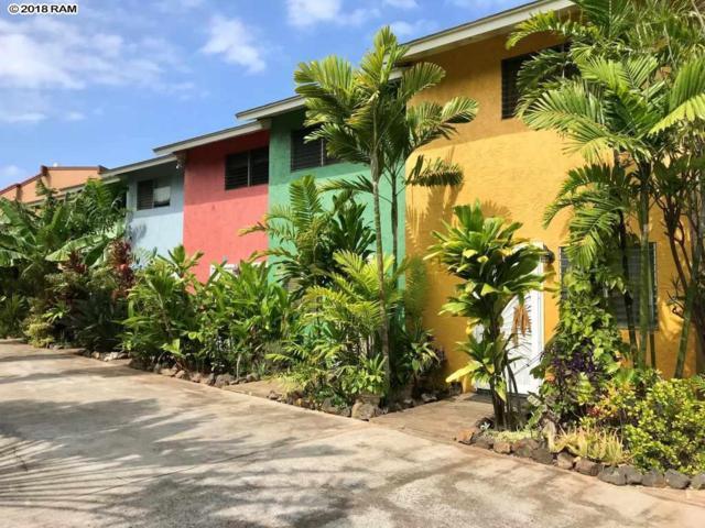 36 Walaka St #5, Kihei, HI 96753 (MLS #378530) :: Elite Pacific Properties LLC