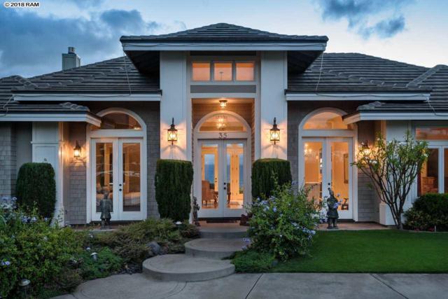 35 Ohia Lehua Pl, Pukalani, HI 96768 (MLS #378656) :: Elite Pacific Properties LLC